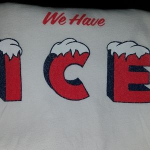 Yeti We Have Ice Tshirt adult small